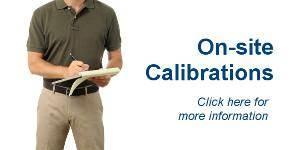 on-site calibration
